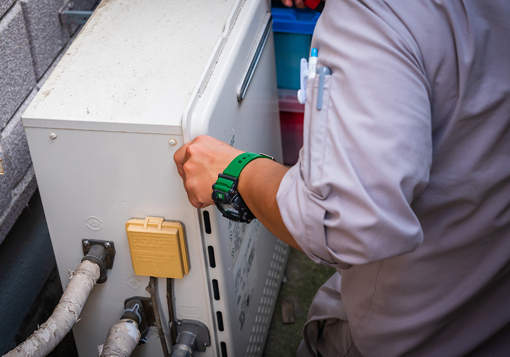 家庭ガス機器メンテナンス 販売・施工